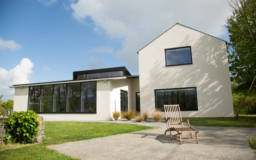 Extension and refurbishment to Passive House Enerphit standard