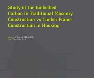 Embodied Energy